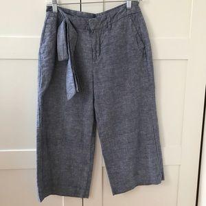 GAP Outlet   Culottes Size 0Reg (avail until 5/29)